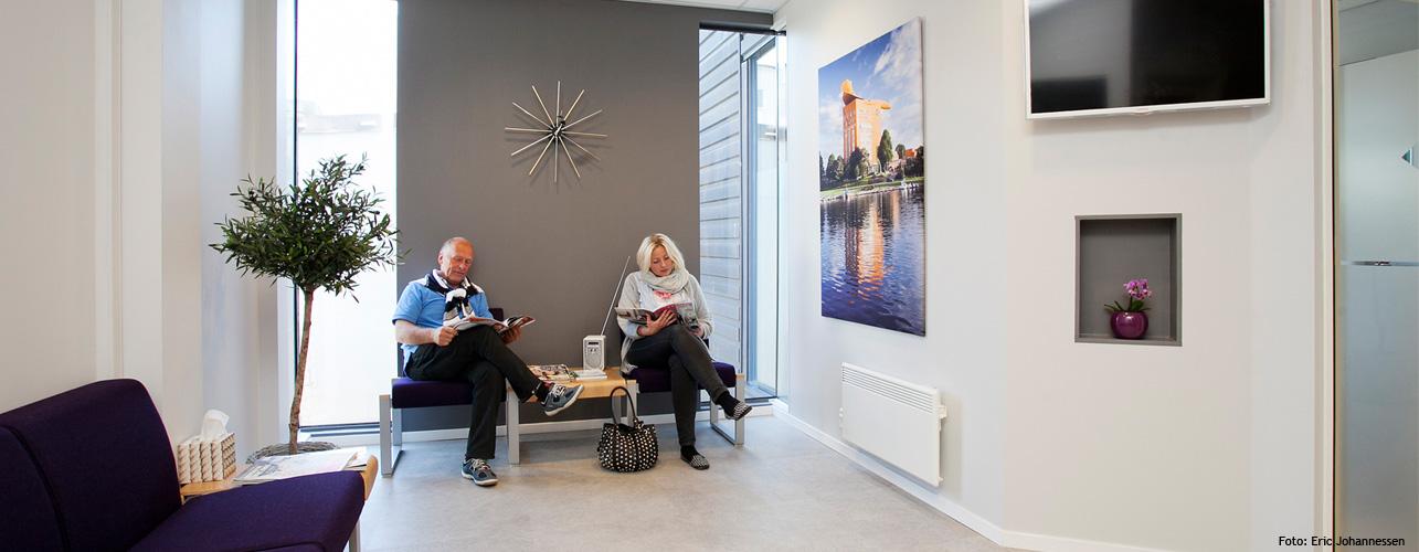 Kunst på venterommet : Tannlege i Sandefjord : Tannhelseklinikken Annette Bøvre